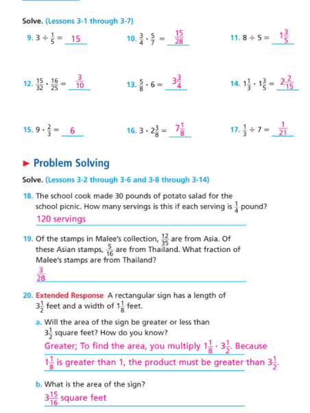 Math Notes - Carpenter's 5th Grade Website